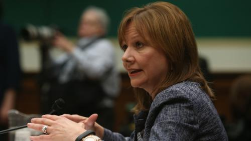 Aide: GM CEO Meets Lawmakers; Probe Near End
