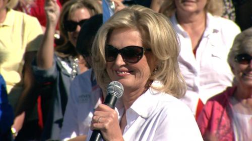 Ann Romney Holds Colorado Rally Ahead Of First Debate
