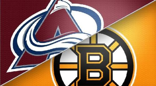 Avs Notch First Win, Beat Bruins 2-1