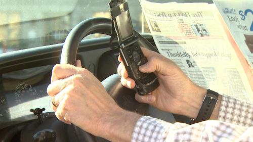 Bill Limiting Drivers' Use Of Cellphones Stalls
