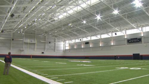 Broncos Reveal New Indoor Practice Facility