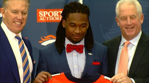 Broncos Sign First-Round Pick Bradley Roby