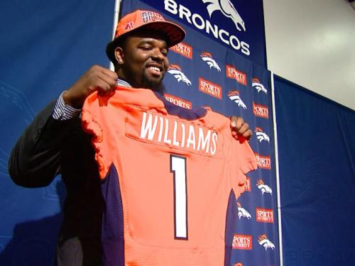 Broncos Sign Top Pick Sylvester Williams