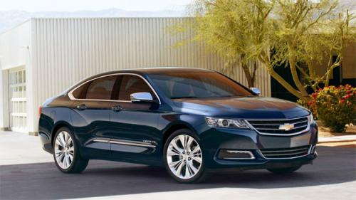 Chevy Impala Among 8 Vehicles To Earn Top Rating For Collision Warning