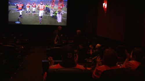 Church Congregation Got Together At Movie Theater To Watch Super Bowl