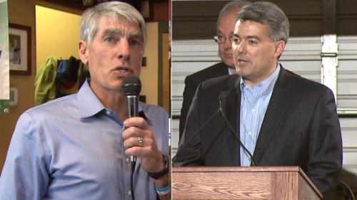 Colorado Senate Rivals Clash In Raucous Debate