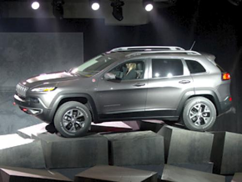 Debuted: 2014 Jeep Cherokee At The New York Auto Show