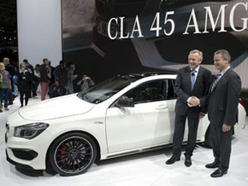 Debuted: 2014 Mercedes-Benz CLA45 AMG At The New York Auto Show