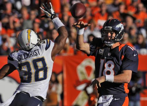 Defense Shines, Manning Throws 3 TDs As Broncos Defeat Chargers
