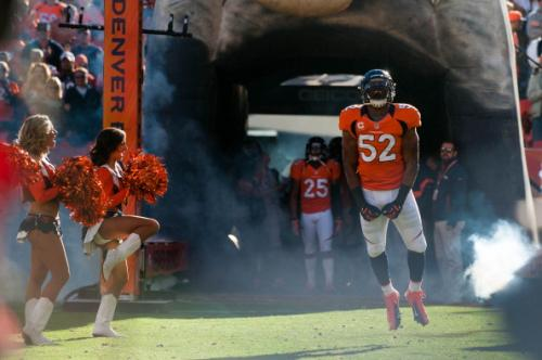 Denver Broncos Practice And Prepare To Win First Ever Game In Baltimore Versus Ravens