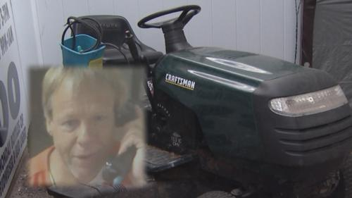 DUI Suspect Pulled Over While Driving Lawnmower