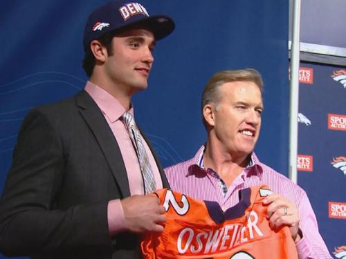 Elway Couldn't Pass On Manning's Heir Apparent