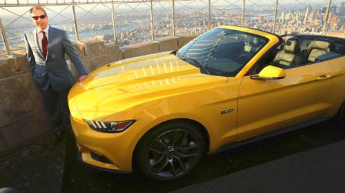 Ford To Offer 50th Anniversary Mustang