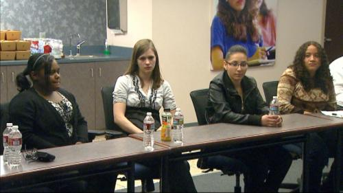 Former Foster Children Meet With Lawmakers For Change