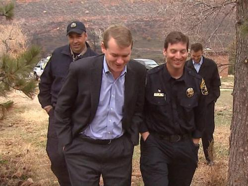 From Burn Area, Bennet Advocates Joint Effort To Fight Wildfires