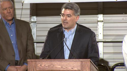 Gardner Raises $1.4 Million To Challenge Udall