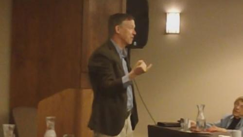 Gov. Hickenlooper Admits Donors Influenced Decisions