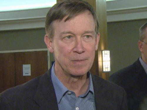Gov. Hickenlooper 'Have The Discussion' On Gun Control