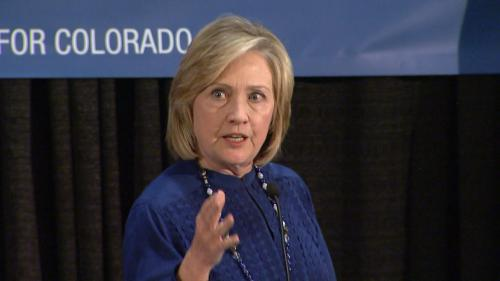 Hillary Clinton Headlines 'Get Out The Vote' Rally For Udall