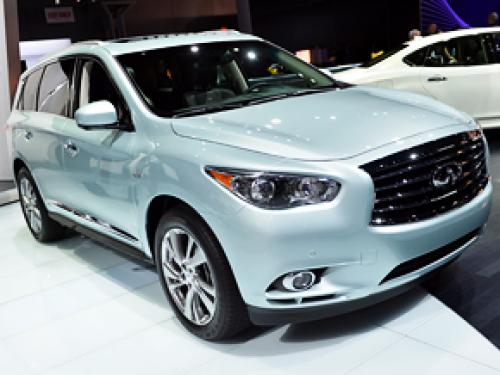 Improved: 2014 Infiniti QX60 At The New York Auto Show