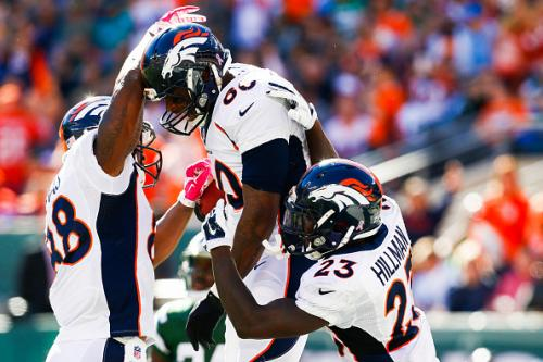 It's Manning's Record To Break, But Thomases Drive Passing Attack