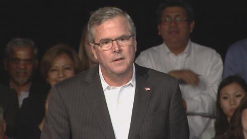 Jeb Bush Swipes At Hillary Clinton In Colorado