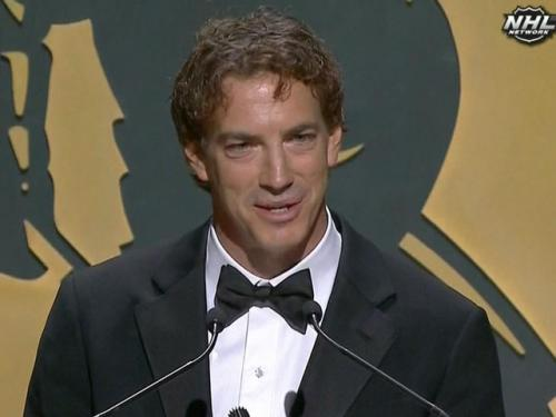 Joe Sakic Inducted Into Hockey Hall Of Fame