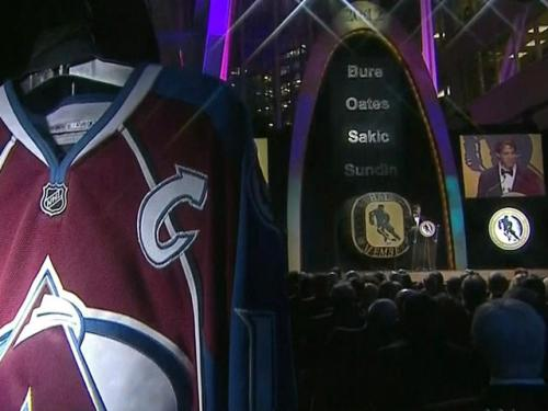 Joe Sakic Touches On NHL Lockout During Hall Of Fame Induction