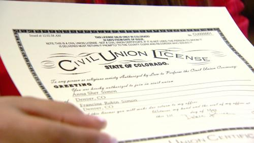 Joint Tax-Filing For Gays Signed In Colorado