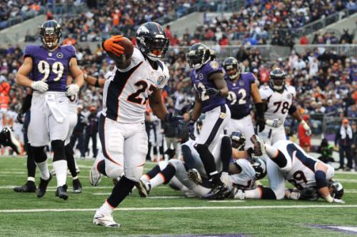 Knowshon Moreno Named AFC Offensive Player of the Week