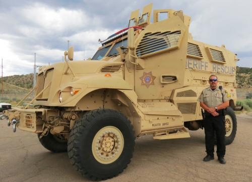 La Plata County Sheriff's Office Gets New Armored Vehicle