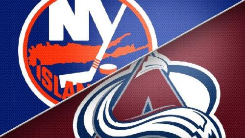 MacKinnon Scores Twice, Avs Beat Islanders 5-0