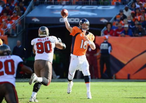 Manning As Accurate As Ever Coming Off Neck Injury