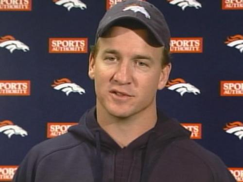 Manning Goes To Work With His New Team