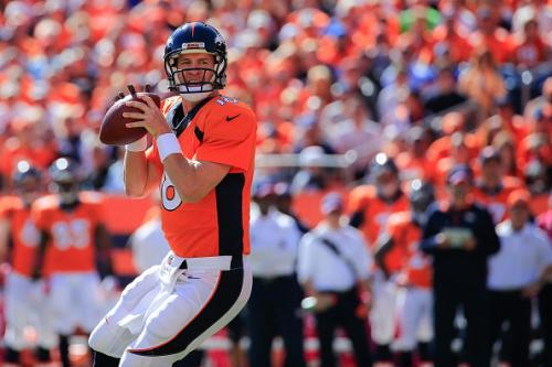 Manning's 500th TD Leads Broncos Past Cards 41-20