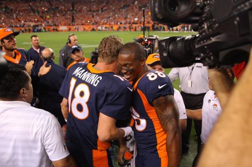 Manning Was Mic'd Up During Record-Breaking Game