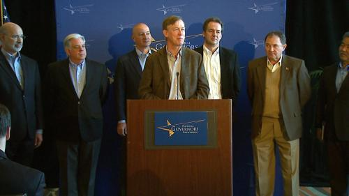 NGA Chair Hickenlooper Welcomes New Governors At Seminar