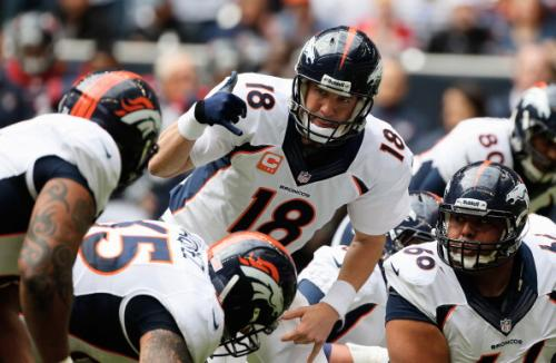 Recent History Is Against Manning, Broncos This Weekend