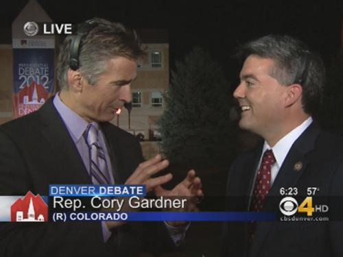 Rep. Gardner Says Debate Will Draw Sharp Contrast Between Candidates
