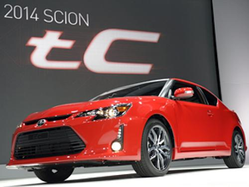 Restyled: 2014 Scion tC At The New York Auto Show