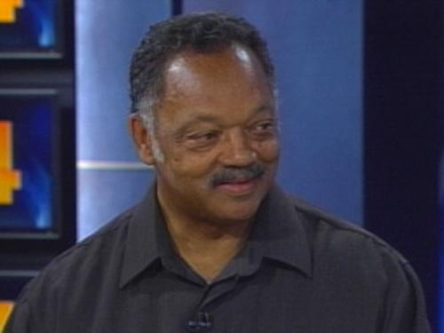 Rev. Jesse Jackson In Denver For ACLU Convention