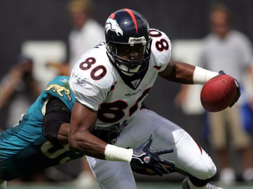 Rod Smith Inducted Into Broncos' Ring Of Fame