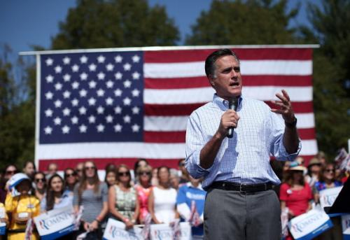 Romney To Spend Less Time Fundraising, Jabs At Obama's Spending Limit