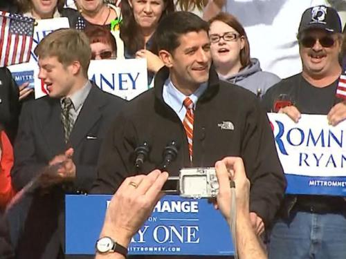 Ryan Rallies Supporters In Greeley
