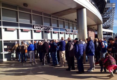 Scalpers Strike Out As Season Ticket Holders Pick Up Tickets