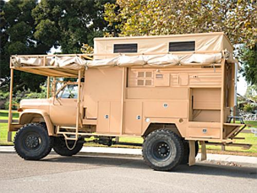 Survivor Truck: For Those Who Take Armageddon Seriously