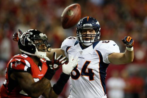 TE Tamme Turns Into Manning's Security Blanket