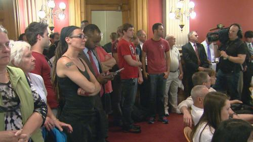 Tensions High After Civil Unions Defeat In Colorado