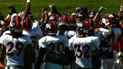Texans-Broncos Practice Features Chippy Moments