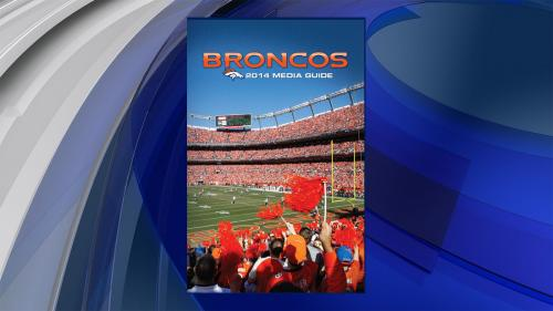 Top 8 Player Profile Double Takes In Broncos 2014 Media Guide